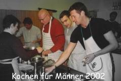 Kochkurs mit Isolde 2002