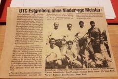 Zeitungsbericht 80-er Jahre